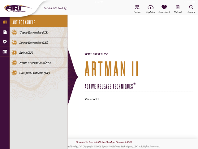 ARTMan Screen Shot