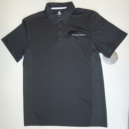Levelwear Mens First Cut Polo Charcoal