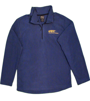 Ouray Sierra Microfleece Zip Pullover in Indigo